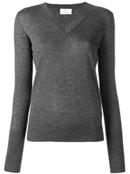 Allude Knitted Top Grey