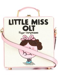 Olympia Le Tan 'Little Miss Olt' Tote Bag Pink Purple