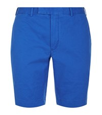 Polo Ralph Lauren Slim Fit Military Shorts Male Blue