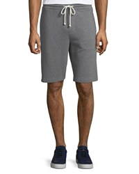 Vince Cotton Sweat Shorts H Medium Grey