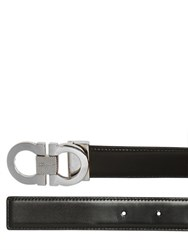 Salvatore Ferragamo 30Mm Reversible Leather Belt