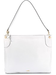 Hogan Top Zip Shoulder Bag White