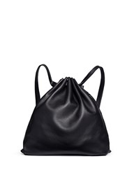 Alexander Wang Bovine Leather Gym Sack Black