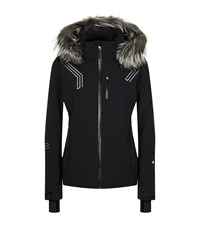 Spyder Hera Fur Trim Ski Jacket Female Black