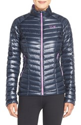 Women's Mountain Hardwear 'Ghost Whisperer' Quilted Down Jacket Blue