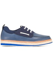 Salvatore Ferragamo Deck Sneakers Blue