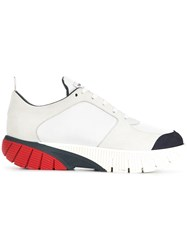 Thom Browne Tricolour Sole Sneakers White