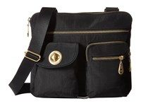 Baggallini Gold Sydney Black Handbags