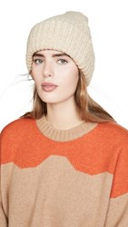 Hat Attack Everything Beanie Oat Tweed