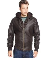 American Rag Cruise Bomber Jacket Brown
