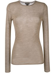 Tony Cohen Knitted Top Nude Neutrals