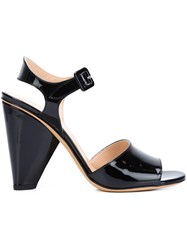 Derek Lam Ankle Strap Sandals Black