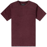 Howlin' Fonz Towel Pocket Tee Burgundy