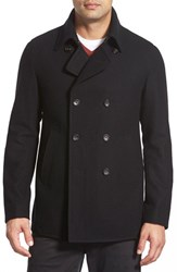 Men's Sanyo 'Mcneal' Double Breasted Peacoat