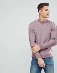 Ted Baker Sweat With Sleeve Detail Mid Purple Pink