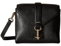 Ecco Isan Small Crossbody Black Cross Body Handbags