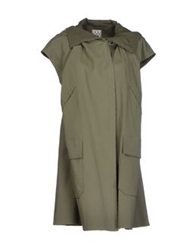 Douuod Full Length Jackets Military Green