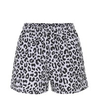 Beth Richards Micro Leopard Printed Shorts Multicoloured