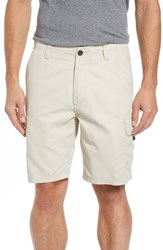 Quiksilver Waterman Collection Maldive Regular Fit Cargo Shorts Rainy Day