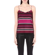 Ted Baker Tissa Crepe Camisole Deep Pink