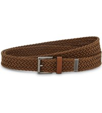 The Kooples Braided Leather Belt Brw01