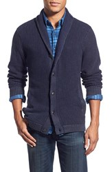 Men's Treasure And Bond Regular Fit Shawl Collar Button Cardigan