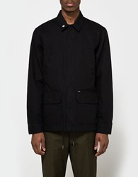 Obey Hoboken Jacket In Black