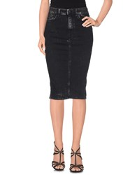 Cycle Denim Denim Skirts Women Black