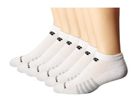 New Balance Low Cut 6 Pack White Low Cut Socks Shoes