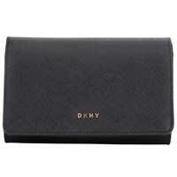 Dkny Bryant Park Saffiano Leather Medium Carryall Purse Black