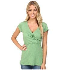Toadandco Empirical S S Tee Agave Women's Short Sleeve Pullover Green