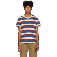Visvim Multicolor Striped A Line T Shirt