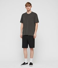 Allsaints Whyte Tailored Shorts Jet Black