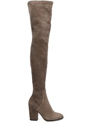 Alexa Wagner 'Domino' Thigh Boots Grey
