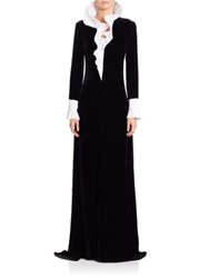 Ralph Lauren Emmy Velvet Gown Black