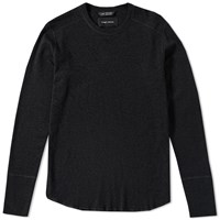 Wings Horns Wings Horns Base Long Sleeve Tee Black