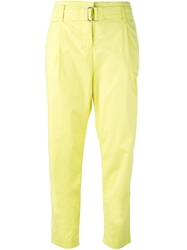Armani Jeans Tapered Cropped Trousers