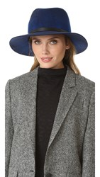 Rag And Bone Floppy Brim Fedora Navy Swirl