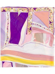 Emilio Pucci Abstract Print Scarf 60