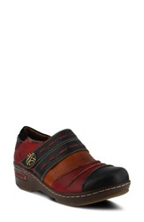 L'artiste Sherbet Shoe Black Mult Leather