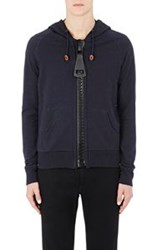 Band Of Outsiders Oversized Zip Hoodie Multi Size 1 S
