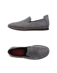 Bb Washed By Bruno Bordese Moccasins Grey