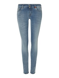 Replay Luz Skinny Jeans Light Blue