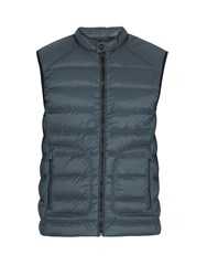 Belstaff Harbury Quilted Down Gilet Blue