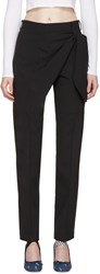 J.W.Anderson Black Single Knot Trousers