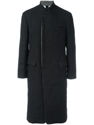 Forme D'expression 'Prussian' Long Coat Black