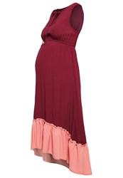 Mintandberry Mom Maxi Dress Windsor Wine Dark Red