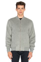 Saturdays Surf Nyc Goose Bomber Grey