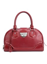 Louis Vuitton Vintage 'Montaigne Gm' Tote Red