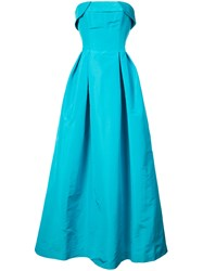 Sachin Babi And Rielle Flared Gown Blue